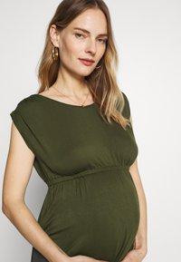 Slacks & Co. - AMELIA - Maxi dress - khaki - 3
