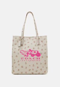 Coach - REXY AND CARRIAGE TOTE - Tote bag - chalk - 1