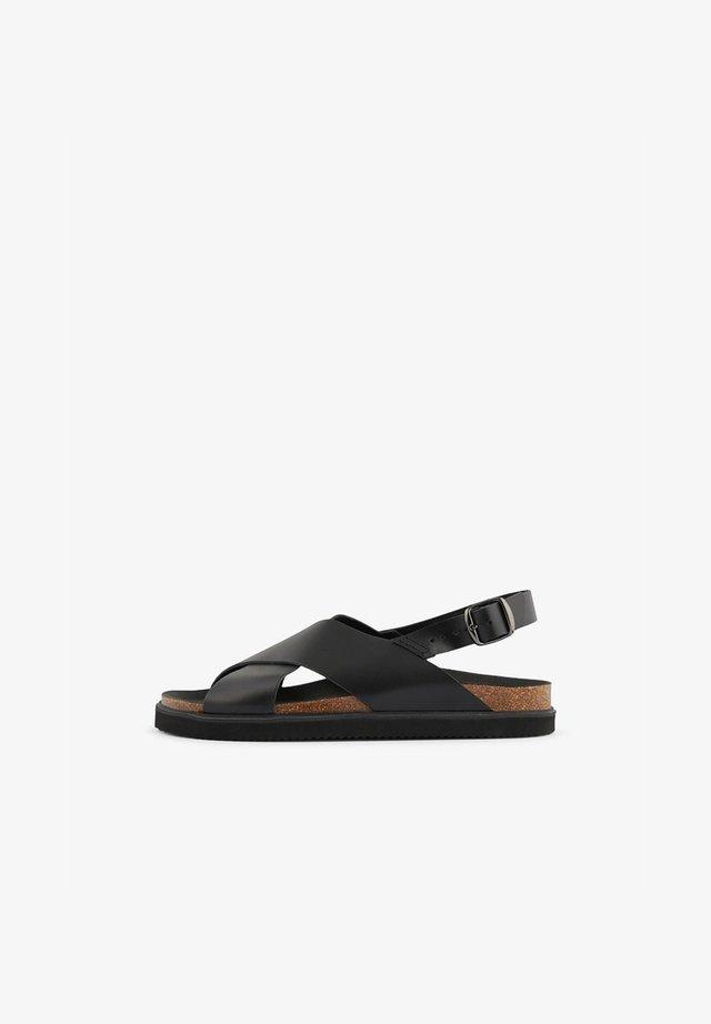 SLINGBACK - Sandals - black