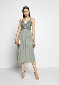 Lace & Beads Tall - IRINA MIDI TALL - Koktejlové šaty/ šaty na párty - mint - 1