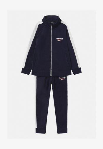 HERITAGE POLY SET - Training jacket - navy