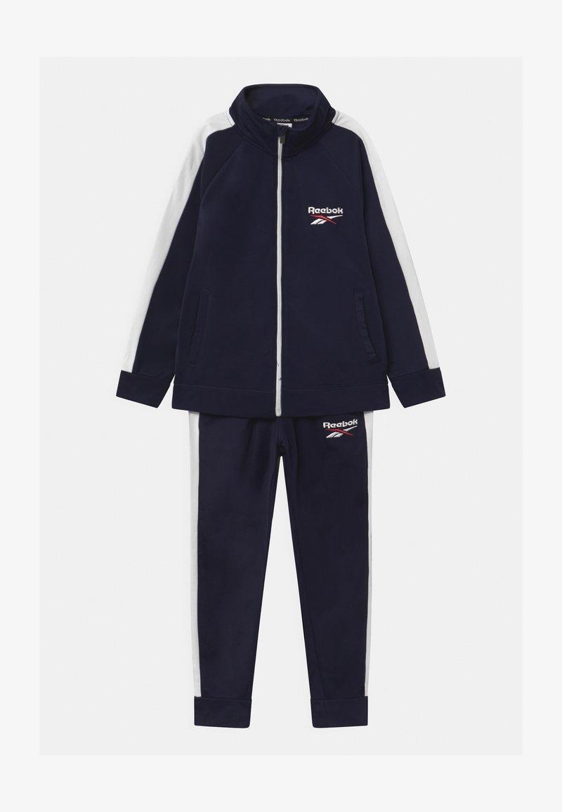 Reebok - HERITAGE POLY SET - Training jacket - navy