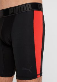 Puma - ACTIVE LONG BOXER PACKED - Panties - black/red - 3