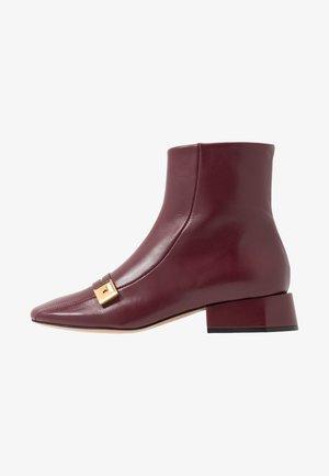 Classic ankle boots - firenze merlot