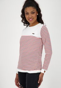 alife & kickin - LEONIE - Long sleeved top - white - 3