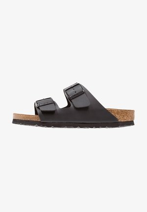 ARIZONA SOFT FOOTBED NARROW FIT - Sandalias planas - black