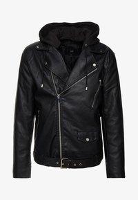 River Island - Faux leather jacket - black - 5