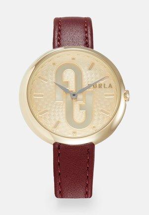 FURLA COSY - Horloge - red/gold-coloured