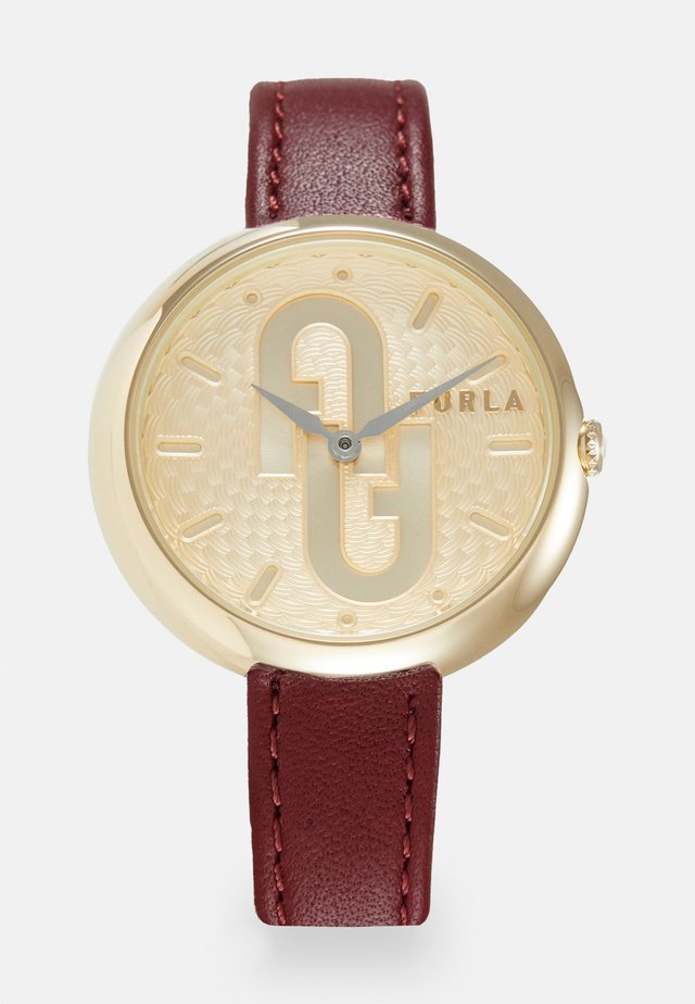 FURLA COSY - Watch - red/gold-coloured