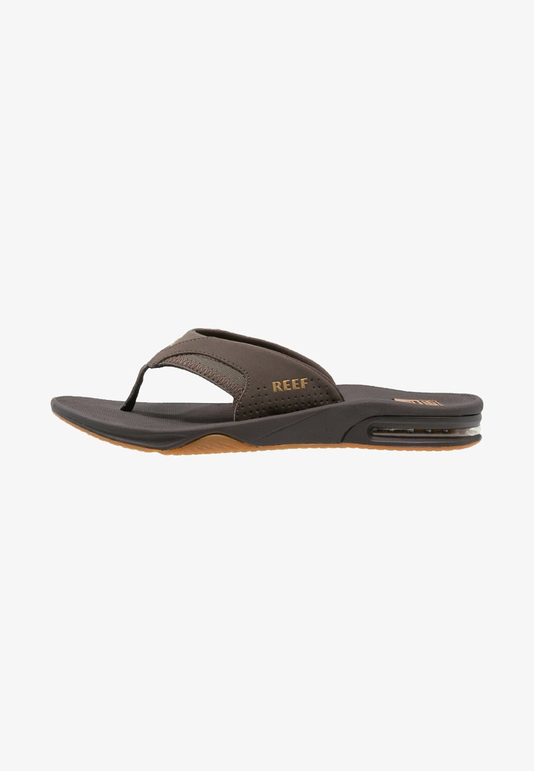 Reef - T-bar sandals - brown