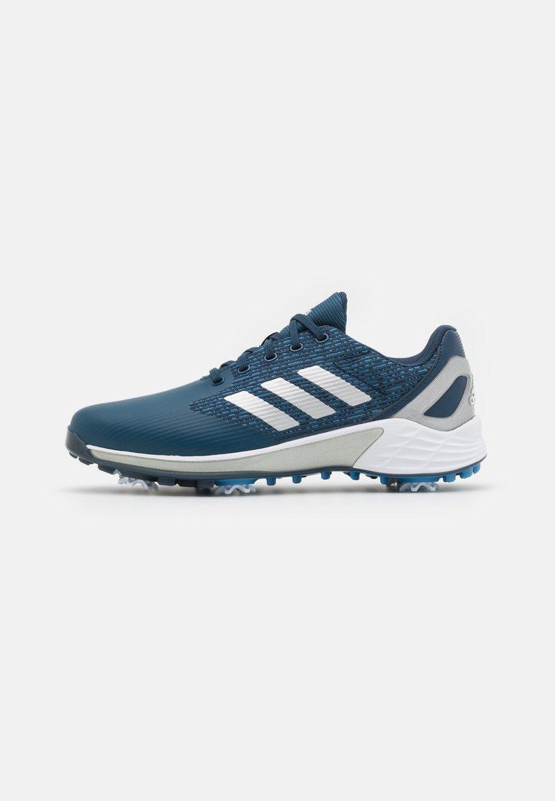 adidas Golf - ZG21 MOTION - Golf shoes - crew navy/footwear white/focus blue