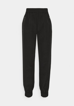 SLFFLOW PANT - Tracksuit bottoms - black