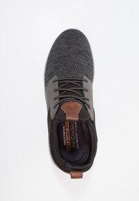 Skechers - DELSON - Slip-ons - black/grey - 1