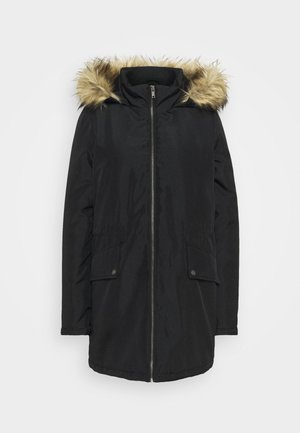 NMOCTAVIA LONG JACKET - Winter coat - black