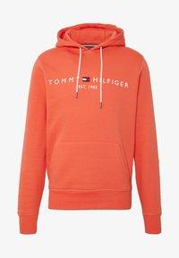LOGO HOODY - Felpa con cappuccio - orange