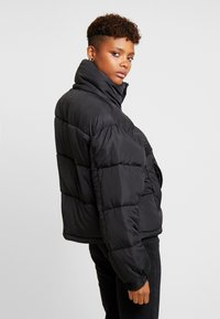 Sixth June - SHORT PUFFER JACKET HOOD - Winter jacket - black - 3