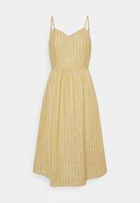 ONLY Petite - ONLVIVIAN-CANYON LONG LIFE DRESS - Kjole - golden spice/cloud dancer - 0
