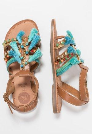 NAMBITA - Sandals - azul