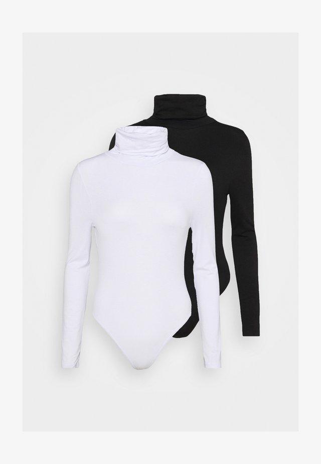 ROLL NECK BODYSUIT 2 PACK  - Long sleeved top - multi