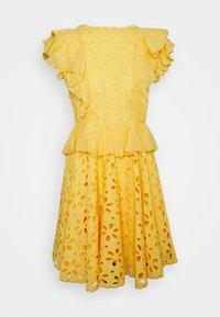 Lace & Beads - RORI DRESS - Day dress - yellow - 4
