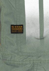 G-Star - FLIGHT CUFFED - Reisitaskuhousut - teal grey - 2