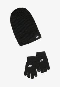 Nike Sportswear - FUTURA BRUSHED BEANIE SET - Mütze - black - 2