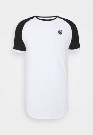 RUNNER RAGLAN TECH TEE - Basic T-shirt - white
