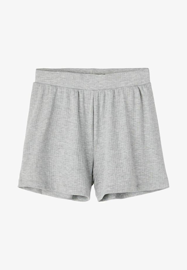 LOOSE FIT  - Shorts - light grey melange