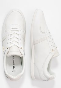 Lacoste - REY SPORT  - Sneakersy niskie - offwhite - 3