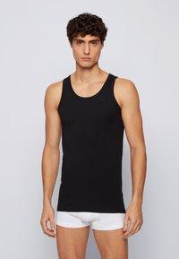 BOSS - SLIM FIT - Undershirt - black - 4