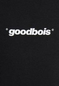 GOODBOIS - OFFICIAL MOCKNECK - Triko spotiskem - black - 2