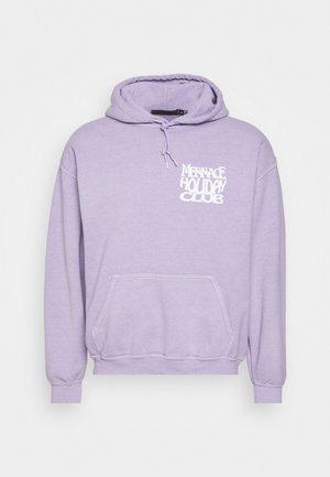 SUNDAZE HOLIDAY CLUB REGULAR HOODIE - Sweatshirt - light purple