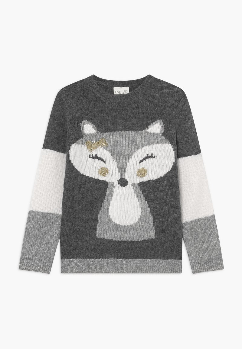 OVS - FOX - Trui - grey