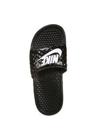 Nike Sportswear - BENASSI JDI - Sandaler - black/white - 4