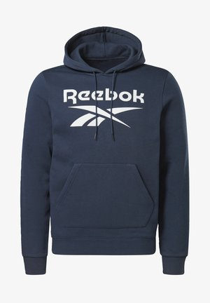 VECTOR BIG LOGO GRAPHIC SWEATSHIRT - Hoodie - blue