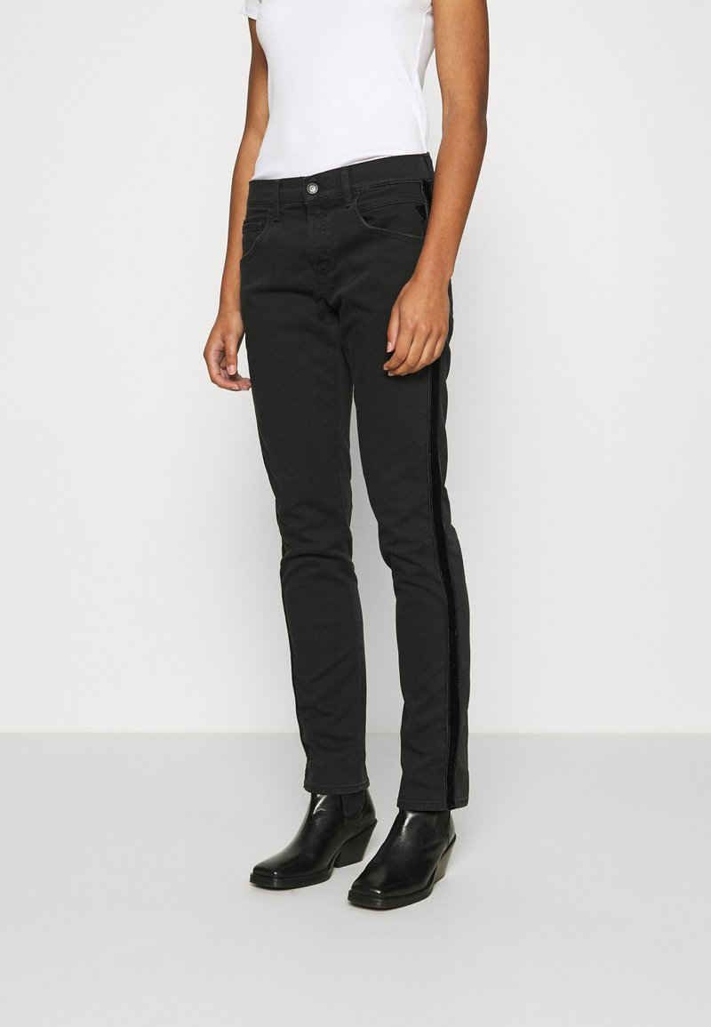 Replay - ROXEL - Relaxed fit jeans - black