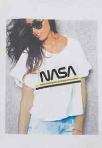 Name it - NKFNASA MARA - Print T-shirt - bright white - 2