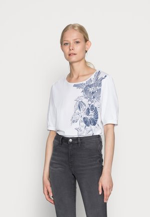 COO  - T-shirt con stampa - white