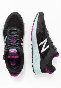 New Balance - FRESH FOAM TRAIL ARISHI GTX - Trail running shoes - black - 1