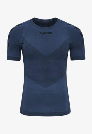 FIRST SEAMLESS  - Sports shirt - dark denim