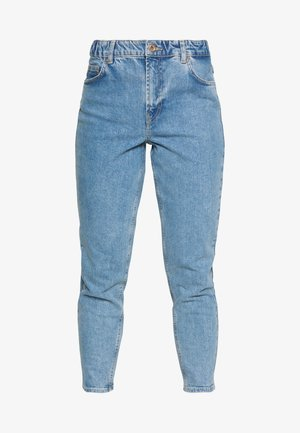 LEAH MOM ELASTIC WAIST - Džíny Relaxed Fit - light blue denim