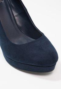 Even&Odd - Hoge hakken - dark blue - 6