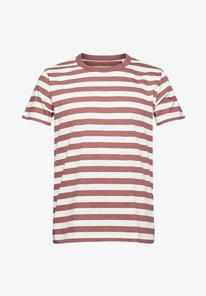 FASHION  - Print T-shirt - berry red