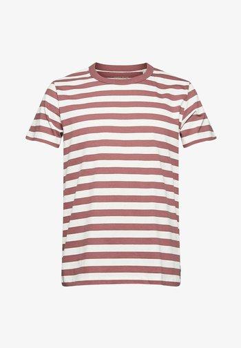 FASHION  - T-shirt print - berry red