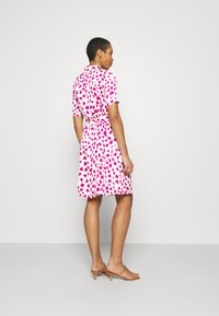 Fabienne Chapot - MILA DRESS - Shirt dress - white/pink - 2