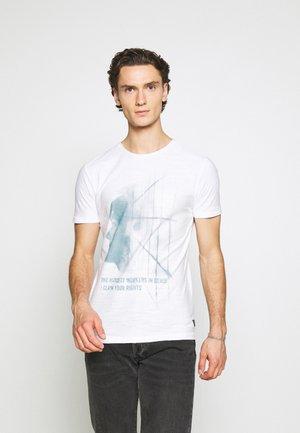 TEE - T-shirt con stampa - bright white