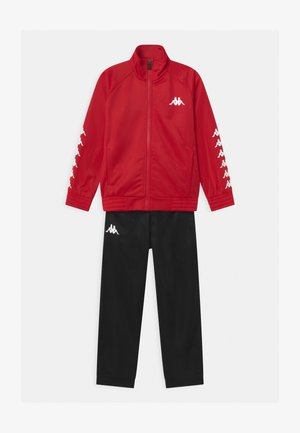 SET UNISEX - Tracksuit - ribbon red