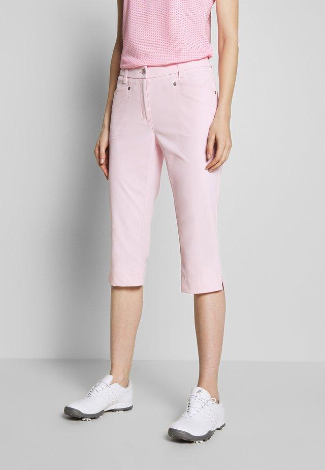 LYRIC CAPRI - 3/4 sportovní kalhoty - pink