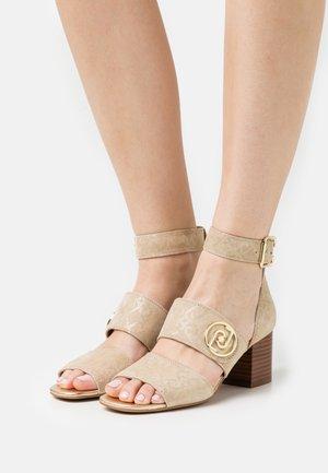 AGATA - Sandals - camel