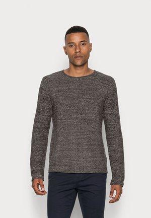 KRISTAN - Stickad tröja - charcoal